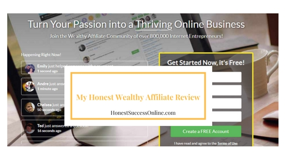 my honest wealthy affiliate review