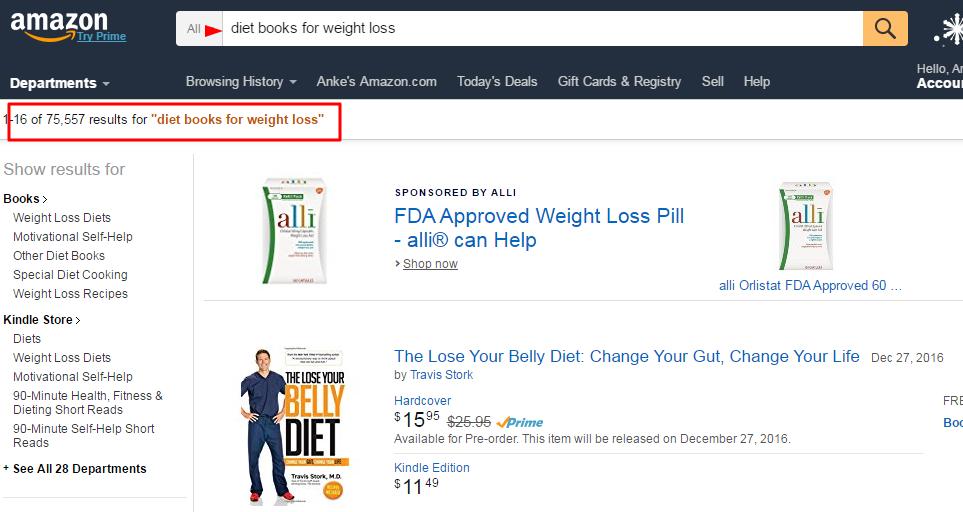 Amazon affiliate