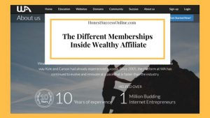 What Are the memberships inside Wealthy Affiliate