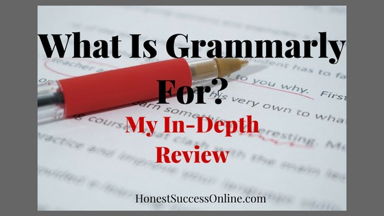 What is grammarly for
