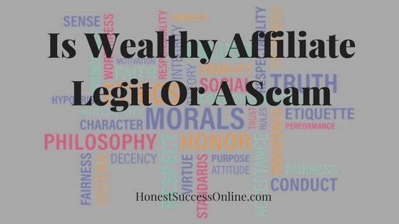 Is Wealthy Affiliate Legit Or A Scam
