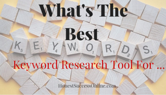 What's the best keyword research tool for