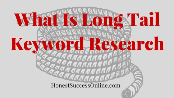 What is long tail keyword research