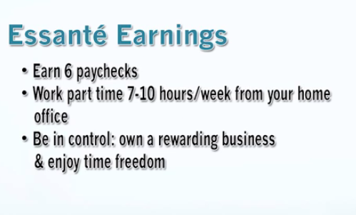 essante earnings