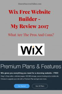 Wix Free Website Builder -My Review 2017