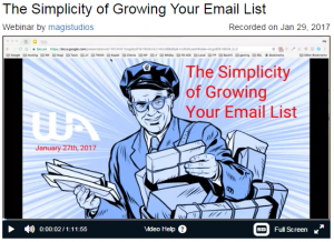 how to grow your email list with Jay