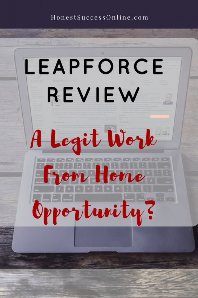 leapforce review - A legit work from home opportunity?