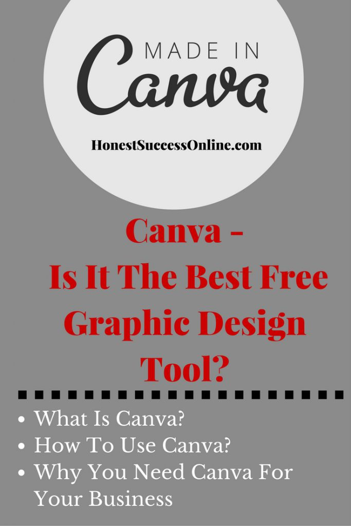what is canva is it the best free web design tool honest