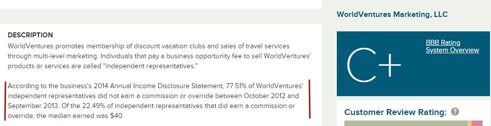 world venture income