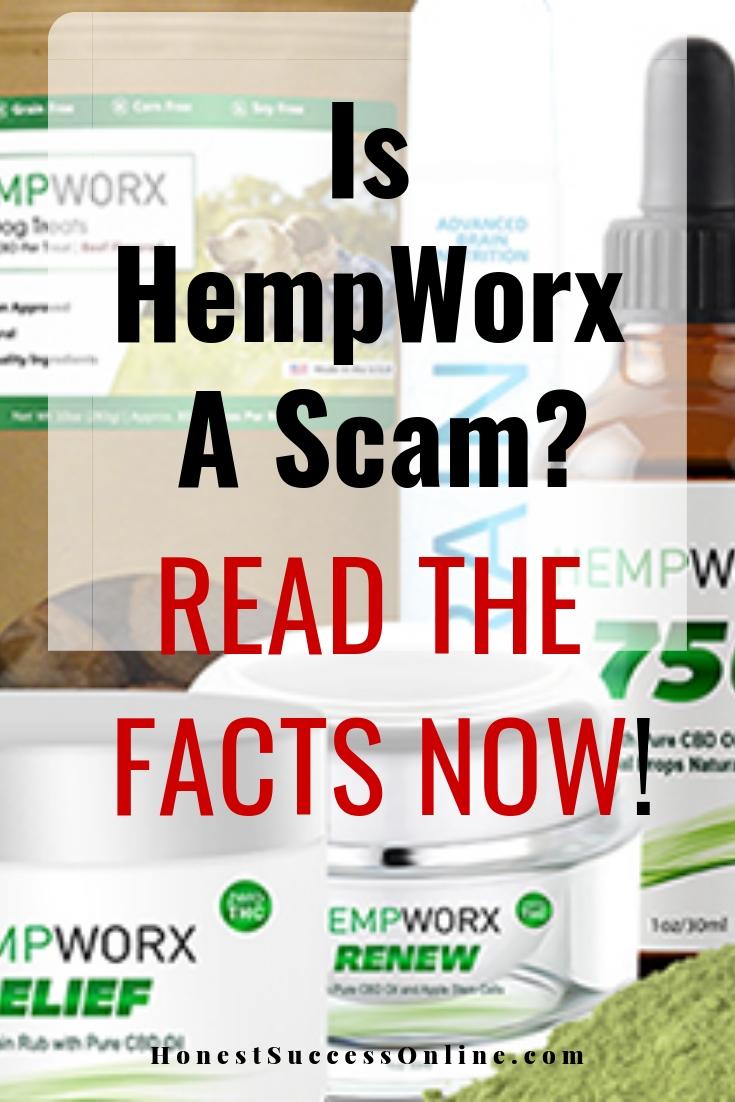 is hempworx a scam