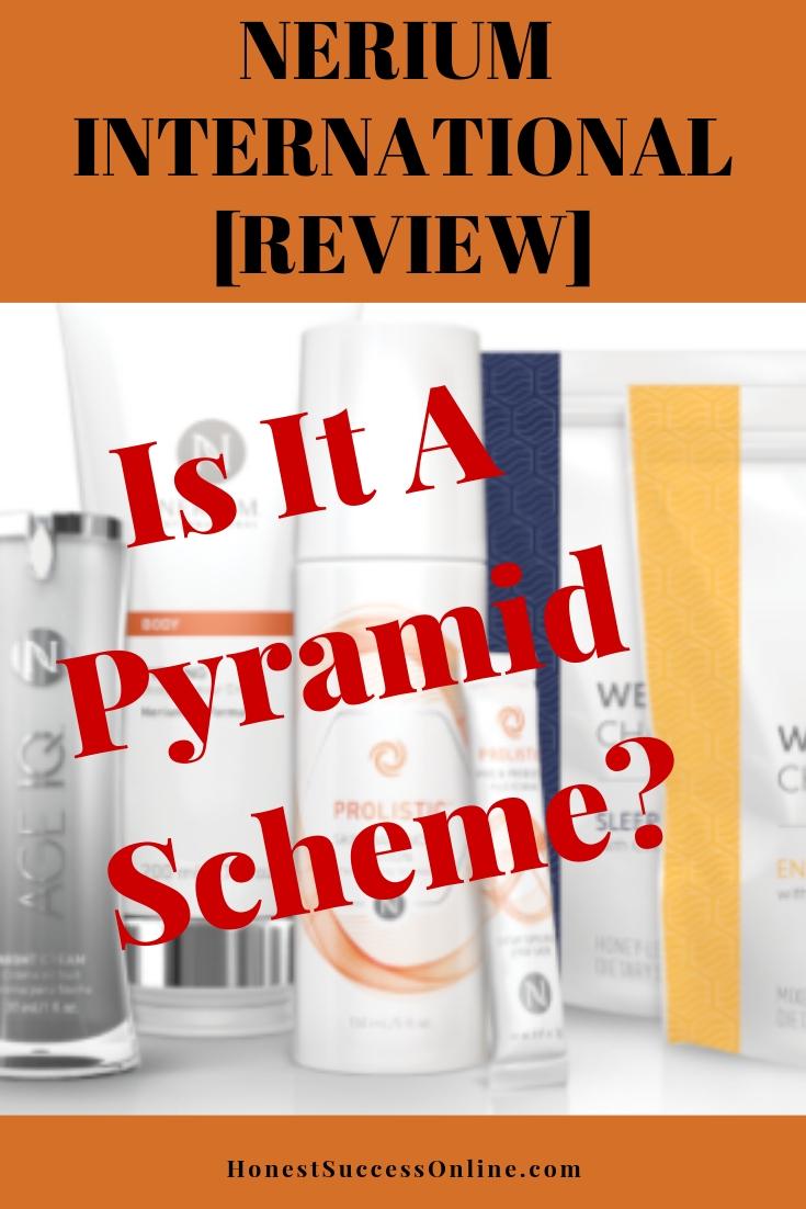 Nerium pyramid scheme