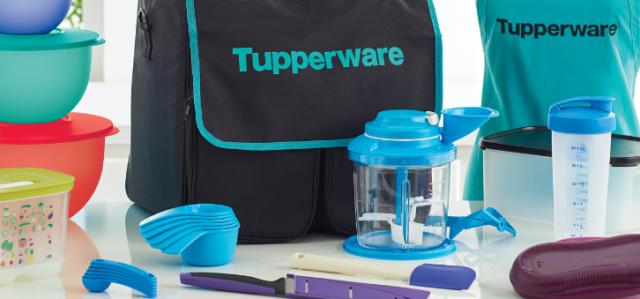 tupperware business kit
