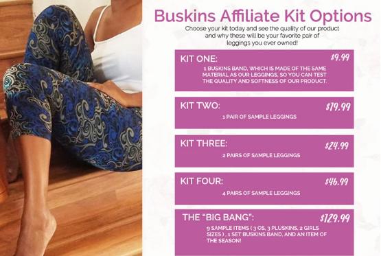 buskins starter kit