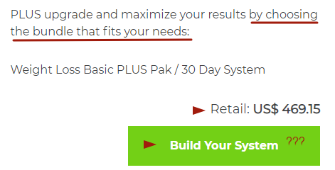 isagenix weight loss system