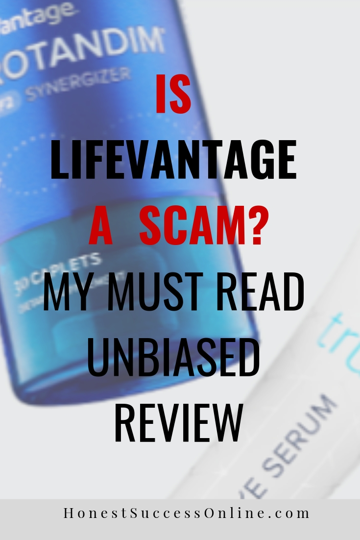 lifevantage scam