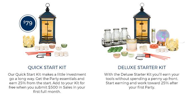 partylite starter kit