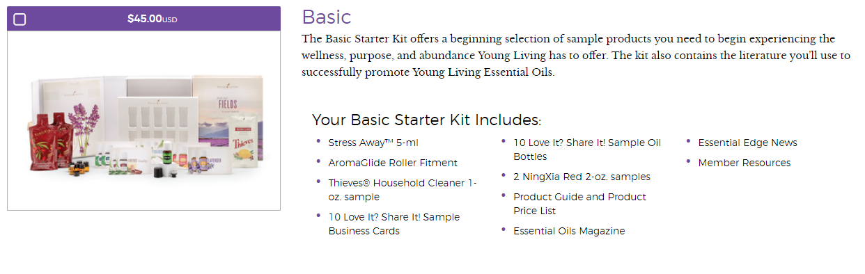 young living basic kit