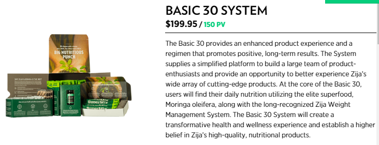 zija international basic system