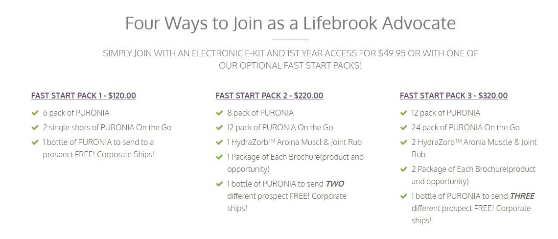lifebrook starter kit