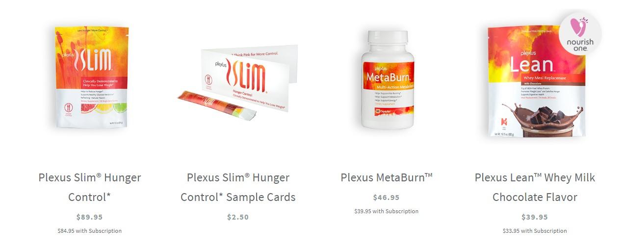 plexus products