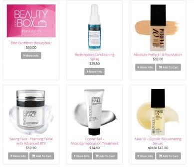 beauty society products