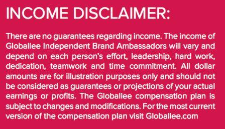 globallee income disclosure